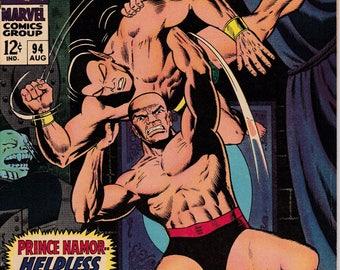 Tales to Astonish #94 (1959-1968 1st Series) - August 1967 - Marvel Comics - Fine