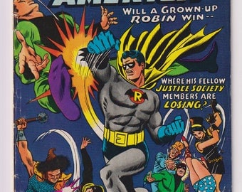 Justice League of America, Vol 1, 55, Silver Age Comic Book. VG (4.0). August 1967.  DC Comics