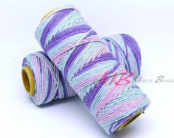 Pastel Color Hemp Cord, 20 lb Natural Hemp Cord Spool, Macrame Light Colors