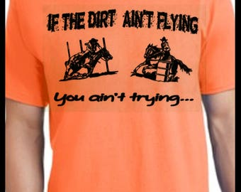 Barrel racing T shirt