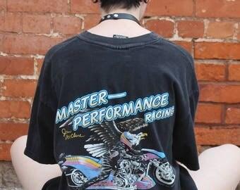 Harley-Davidson Jim McClure Master Performance Racing Vintage T-Shirt