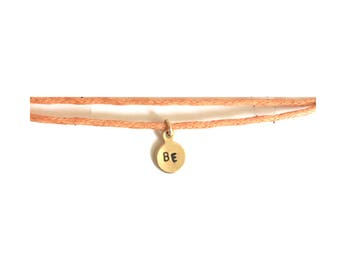 BE bracelet, adjustable bracelet