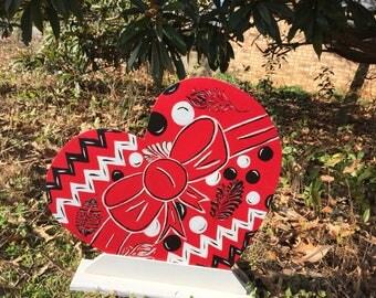 Valentine's Day decor - Valentine door hanger - Valentine Sign