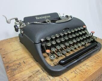 Gorgeous 1930s Remington Model 5 Working Typewriter & Case!