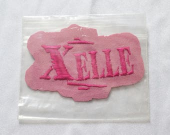 ELLE PATCH -girl power, pink, cute, clueless, 90s, y2k, spice girls, backpack, festivals, pastel, aesthetics, vintage, jacket-