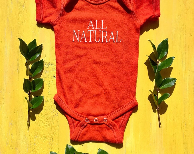 All Natural Onesie