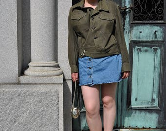 vintage WW2 Army Jacket