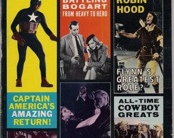 SCREEN THRILLS ILLUSTRATED 7,Captain America,Errol Flynn,Robin Hood,Rare Warren Movie Magazine,Comics,SciFi,Forrest J Ackerman