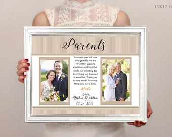 Father Of The Bride Frame, Father Of The Bride Gift, Wedding, Personalized Frame, Custom Frame