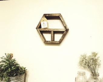 Half HalfHex Wall Shelf
