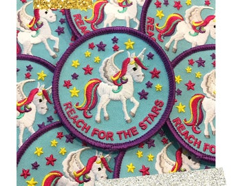 Reach for the Stars Unicorn Patch