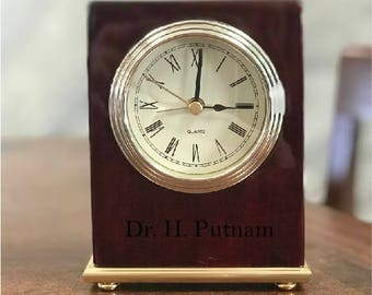 Custom Engraved Clock