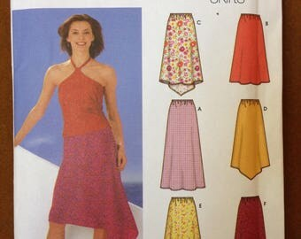 Simplicity 5505 - 2 Hour Easy Pull on Skirt in 6 Styles by Karen Z - Size 14 16 18 20