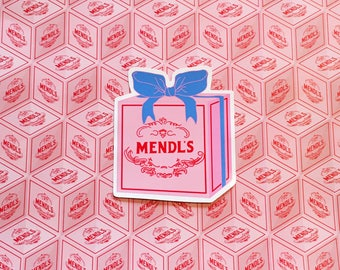 Mendl's Box Vinyl Sticker