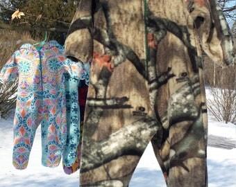Large Fleece Bunting Camo