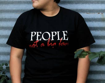 People not a big fan, Funny shirt, Anti people shirt, Anti social shirt, Introvert shirt, funny gift , Anti people gift, introvet gift