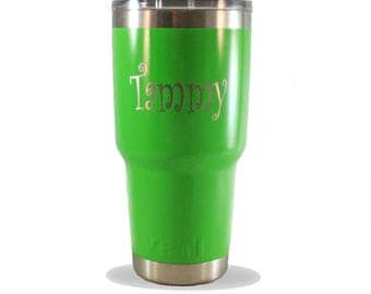 Custom Powder Coated cups YETI 30 oz tumblers stainless steel mug personalized YETI for him or her gift keep it hot or cold gift-for-men