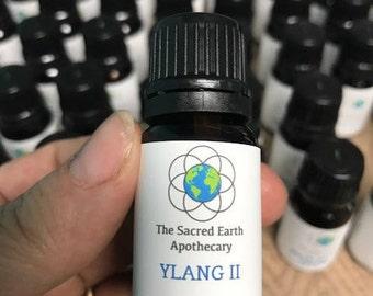 Ylang Ylang Certified Organic Essential Oil Pure Therapeutic Grade - 10 ml