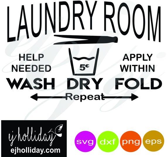Download Laundry Room SVG dxf eps png Digital Cutting Design Instant