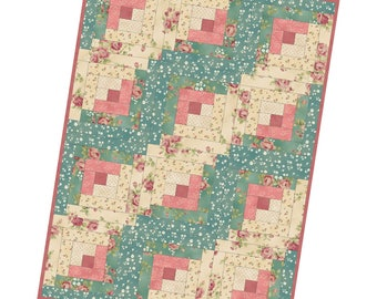 FREE Shipping Log Cabin Precut Quilt Kit Pod by Maywood Studio Featuring Welcome Home POD/MAS02-WHC1-1
