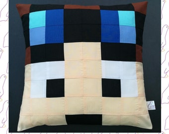 Dan TDM from Minecraft - The Diamond Minecart Cushion/Pillow