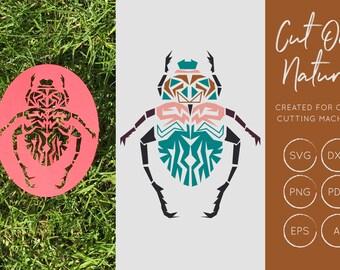 Beetle SVG, Beetle DXF, Beetle Cut File,Beetle Clipart, Beetle Clip art, Creepy Crawly Clip Art, Insect SVG, Cut Files, Instant Download