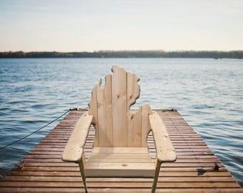 Classic Style - Michigan Adirondack Chair (x1) - Outdoor Furniture