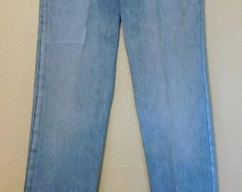 Vintage 90s Levis 501 Light Wash Blue Jeans 30x32