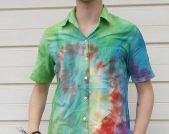 Tie Dye Shirt (Button Up)