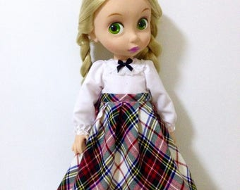 Set 2 pieces outfit for Disney animator doll 16""