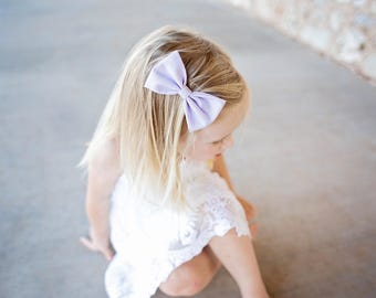 Periwinkle Dream | baby headband bows, baby hair clips, baby hair accessories, baby headband set, hair bows, newborn headband, nylon