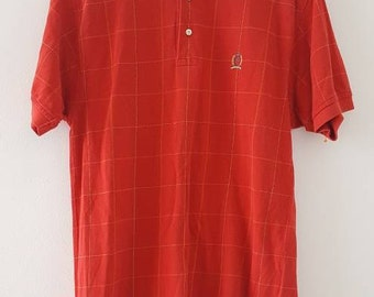 Vintage Tommy Hilfiger crest polo shirt, small