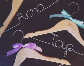 Personalized Kids Hangers - Set of 3