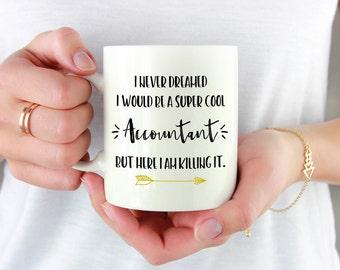 Accountant Mug, CPA Mug, CPA Gifts, Gift For CPA,Financial Planner, Accounting Mug, Accounting Humor, Geek Mug, Boss Mug, Accountant Gift