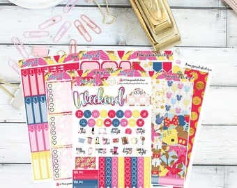Magical Full Weekly Kit/ Planner Stickers