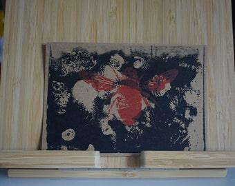 Handmade Multi Bee Flower Print