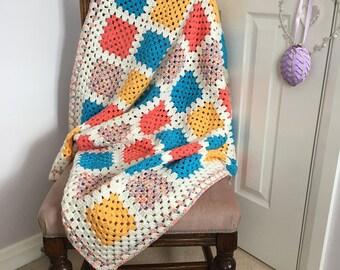 Annie - Handmade Crochet Blanket