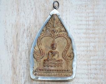 Sitting Buddha Pendant, Thailand Sitting Buddha Pendant, Buddha Pendant, Buddha Amulet, Thai Buddha Pendant
