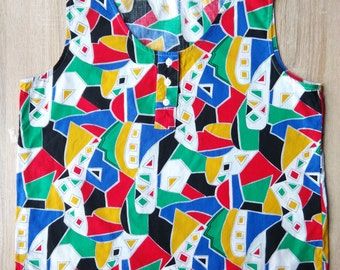 Retro style blouse