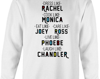 Friends TV show sweatshirt, eat like joey sweatshirt, friends tv show merch, friends tv show gifts, friends tv show, Best Seller, New Design
