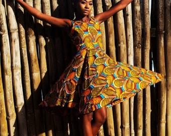 Zukiva Flamboyant Dress