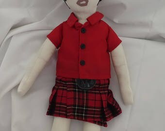 Elvis Rag Doll