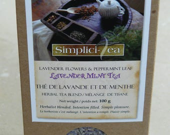 Lavender Mint Herbal Tea
