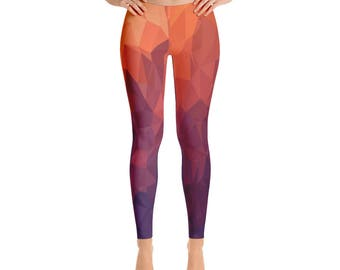 Women's  Fire-Leggings,Beautiful Pattern leggings, full printed, Printful, USA,Made for you, Modern,Trendy Design store,