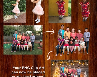 Make Me Clip Art - Make any image into PNG Transparent Clip Art