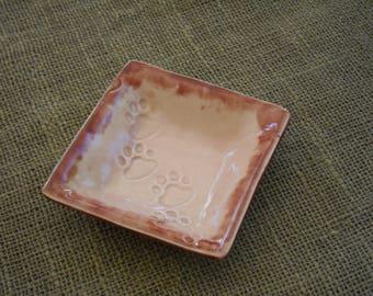 Dog Bowl - Pet Lovers Bowl - Cat Bowl - Pet Dish - Cat Dish - Dog Dish - Pet Pottery