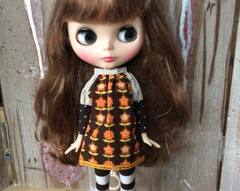 OOAK Blythe dress retro