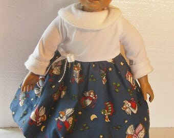 Christmas Dress for American Girl and Other 18 inch dolls