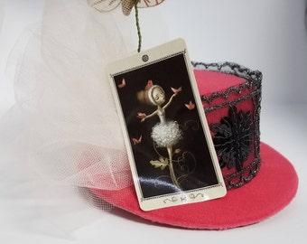 Prima Rising Mini Top Hat Tarot Card Fascinator