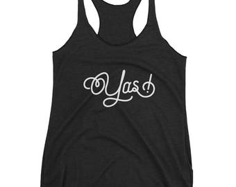 Yas! Ilana Broad City TV Show Pop-Culture Women's Racerback Tank